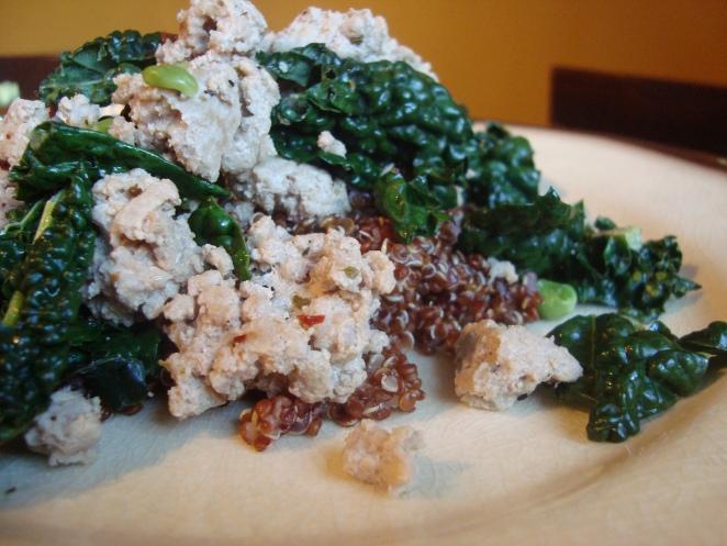 Turkey kale quinoa